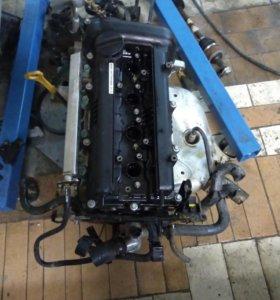 Двигатель на Hyundai Solaris Kia Rio 1.6 g4fc