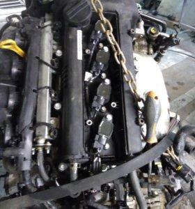 Двигатель на Hyundai Solaris 1.6 g4fc