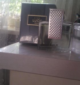 Мужская туалетная вода Luck компании AVON