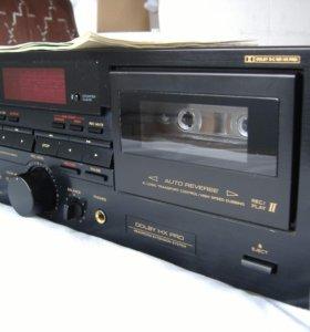 Дека 2-х кассетная Teac W-700R