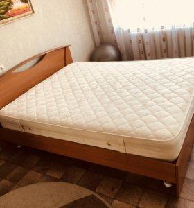 Кровать 160х220 с ортопедическим матрасом
