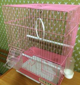 Продаю клетку для попугайчиков