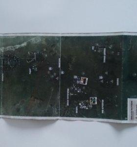 карта из коллекционного набора STALKER
