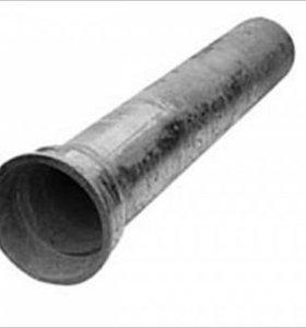 Труба чугунная канализационная 50*2000