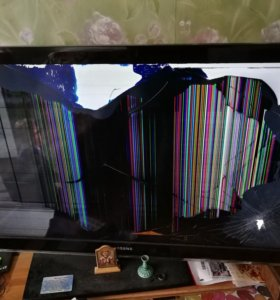 Телевизор самсунг битый