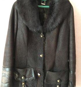 Куртка из натуральной кожи дубленка