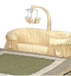 Кроватка+ люлька