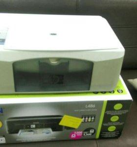 Цветной МФУ, сканер+принтер+копир
