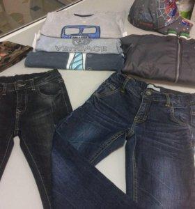 Фирменные джинсы для мальчика.б/у.