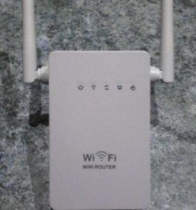 Роутер и репитер Wi-Fi.