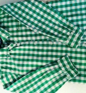 рубашки 98-104 см