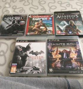 Диски на PS3 ( 5 штук)
