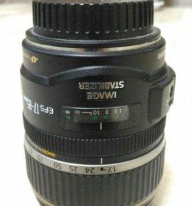 Объектив Canon EF-S 17-85mm f 4-5.6 is usm