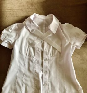 Школьная блузка 140 см