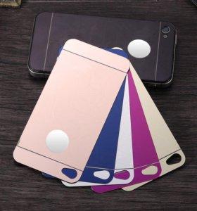 Комплект Защитные стекла iPhone 4/4s