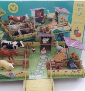 Игровая ферма мари от dgeco