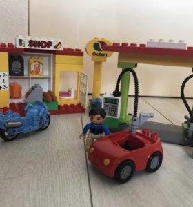 Лего дупло 6171. Заправочная станция