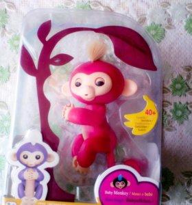 Интерактивная обезьянка куплена вчера