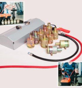 Оборудование для ремонта амортизаторов, 10 насадок