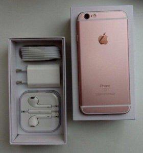 IPhone 6s, 16gb, rose gold, шикарное состояние