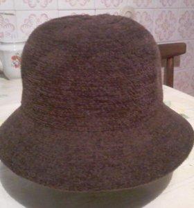 Шляпка женская шерстяная