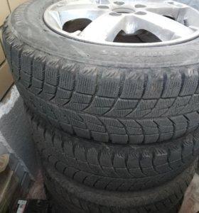 Колёса R15 195/65 на литье Blizzak WS60