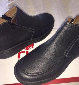 Продам мужские зимние ботинки Rieker