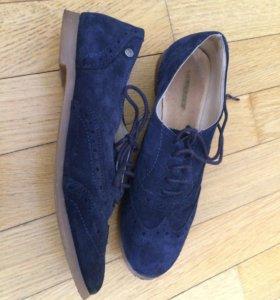 Женские замшевые ботинки бооги 39р-р