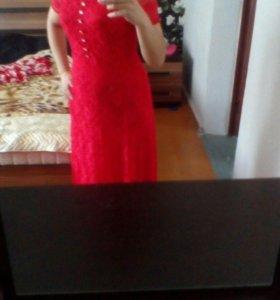 Длиное платье