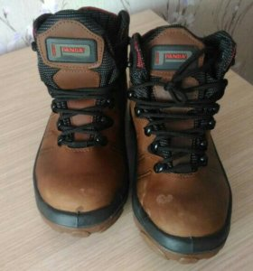 Мужские кожаные ботинки, 39 размер