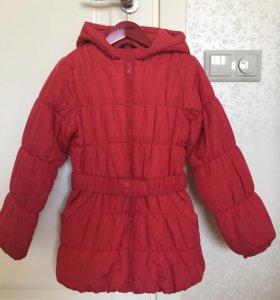 9-10 лет. Зимняя куртка