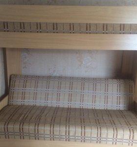 Двухъярусный диван- кровать