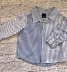 Рубашка на мальчика 12-18 мес