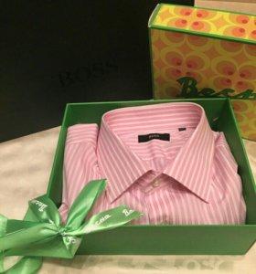 Рубашка Boss новая оригинал размер 45