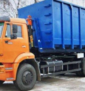 Вывоз мусора, грунта, снега!