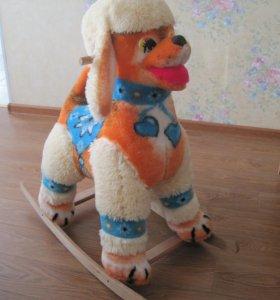 Качалка - собачка