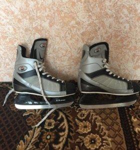Непрофессиональные хоккейные коньки