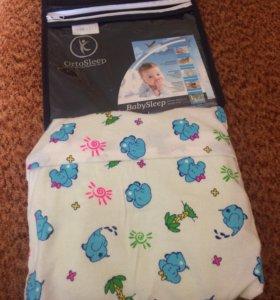 Анатомическая подушка для младенца