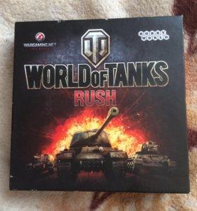 World of Tanks Rush.Настольная игра