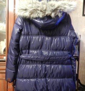 пальто (холлофайбер) на флисовой подкладке