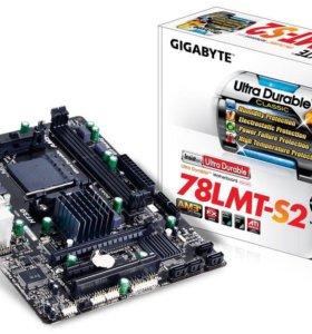 Материнская Плата am3+ gigabyte ga 78lmt-s2