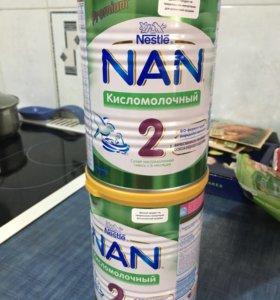 Смесь кисломолочная NAN 2
