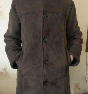 Куртка замшевая мужская р 46