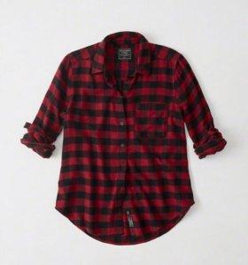 Новая фланелевая рубашка Abercrombie & Fitch