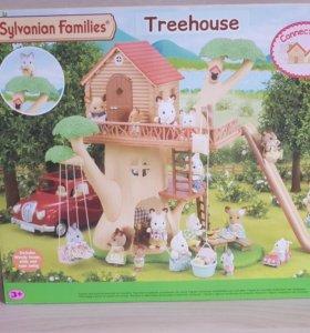 Sylvanian Families Дерево дом