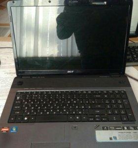 Ноутбук на запчасти или под восстановление