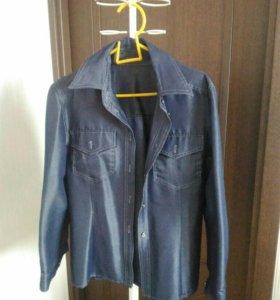 Рубашка джинсовая стрейч
