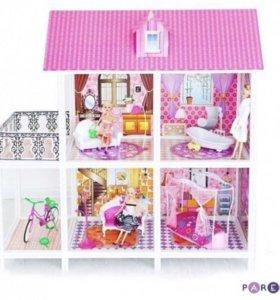 Кукольный дом 3 комнаты