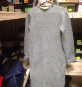 Платье тёплое 48-50