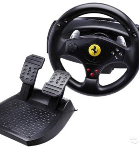 Thrustmaster Ferrari GT Experience руль + педали